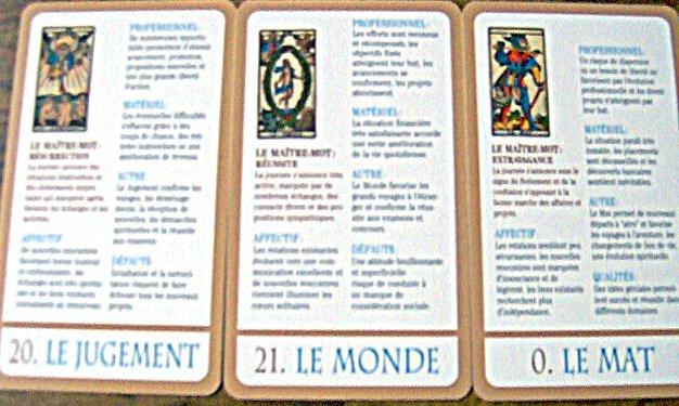 cartes divinatoires